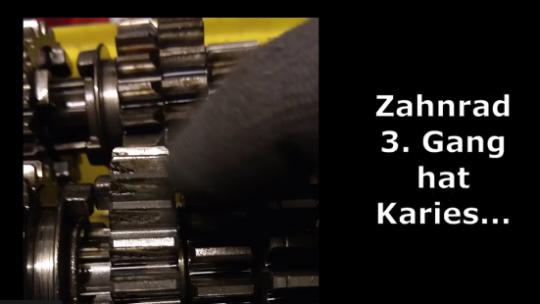 LTZ 400 – 3. Gang vom Getriebe defekt (Karies)